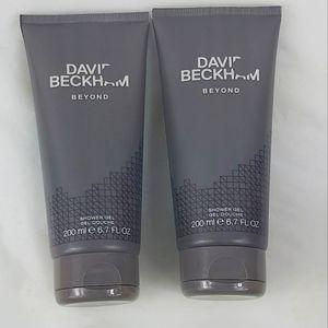 David Beckham shower gel